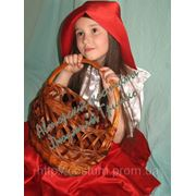 Карнавальный костюм Красная Шапочка фото