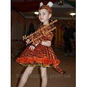 Карнавальный костюм Тигрица. Авторский V.I.P. костюм фото