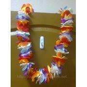Декорации для гавайской вечеринки: пальма, факелы, юбка на стол, прокат костюма, леи -30 грн фото