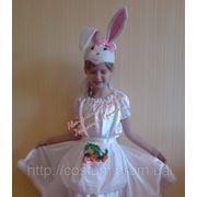 Карнавальный костюм Зайка для девочки. фото
