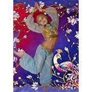 Восточная красавица голубая на 5,6,7,8,9,10,11,12 лет фото