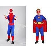 Карнавальный костюм 2 в 1Спайдер-Супермен фото
