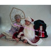 Новогодний костюм Деда Мороза для мальчика фото