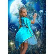 Маскарадные карнавальные сказочные костюмы Русалка на 5,6 лет фото