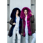 Зимняя куртка-парка фото