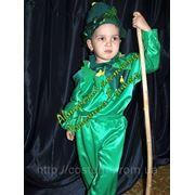 Карнавальный костюм Огурец. фото