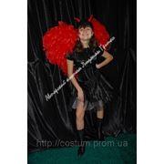 Карнавальный костюм Дьяволица на Hallowin (взрослый). фото