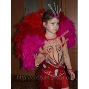 Карнавальный костюм Бразилия. V.I.P. костюм для девочки фото