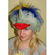 Карнавальная шапка кикимора,коза,корова фото
