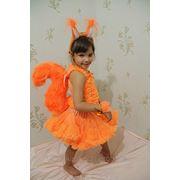 Детский карнавальный костюм Белочка прокат Киев фото
