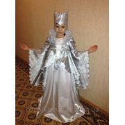 Прокат карнавального костюма Снежная королева фото