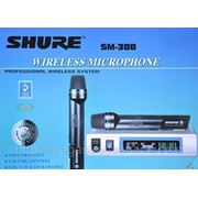 Микрофон, радиомикрофон Shure SM-388 на два микрофона фото