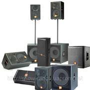 Звук в аренду: Акустическая система JBL от 1 до 30 кВт фото