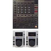 Микшерный пульт Pioneer DJM-600, 2 CD-плейера Pioneer CDJ-100s фото