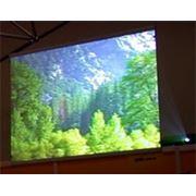 Акриловый экран обратной проекции. фото