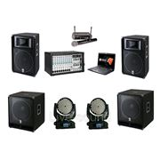 Звук на выпускной 2000W + свет фото