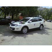 Автомобиль Mazda CX-9 для обслуживания свадеб и деловых мероприятий фото