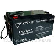 Гелевый аккумулятор FORTE CG12V100DG