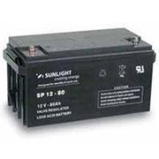 Аккумулятор SUNLIGHT SP12-80, 12В 80 А*ч фото