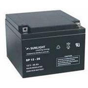 Аккумулятор SUNLIGHT SP12-26, 12В 26 А*ч фото