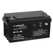 Аккумуляторная батарея SUNLIGHT (AGM) SPb12-80 фото