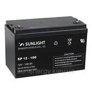 Аккумуляторная батарея SUNLIGHT (AGM) SPb12-100 фото