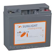 Аккумуляторная батарея SUNLIGHT (GEL) SPg12-18 фото