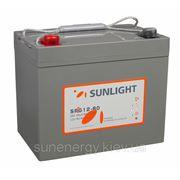 Аккумуляторная батарея SUNLIGHT (GEL) SPg12-80 фото