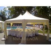 Аренда шатров для официальных событий и военных палаток фото