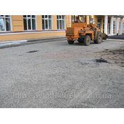Асфальтирование в Киеве. Укладка асфальта. фото