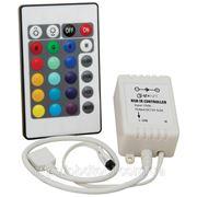 RGB контроллер 24 функции — для управления многоцветной светодиодной подсветкой фото