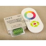 RGB-контроллер сенсорный White (радио) овальный белый