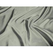 Стрейч-атлас серый (арт. 0984) фото
