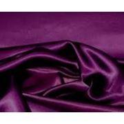 Стрейч-атлас темно-фиолетовый (арт. а0941)