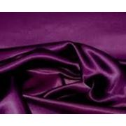 Стрейч-атлас темно-фиолетовый (арт. а0941) фото