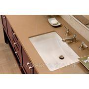 Столешница в ванную комнату из искусственного камня фото