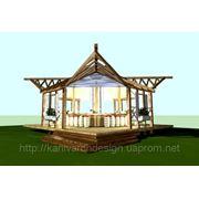 Дизайн-проект альтанки для туристичного комплексу «КНЯЖА ГОРА» фото