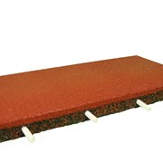 Резиновая плитка 500х500мм толщина 40 мм фото
