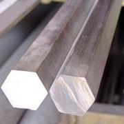 Шестигранник горячекатаный конструкционный фото