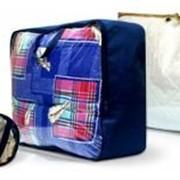 Упаковка для домашнего текстиля – одеял, подушек, полотенец, халатов, детских наборов. фото