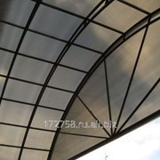 Сотовый поликарбонат Novoglass бронза 10 мм фото