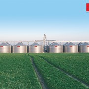 Зернохранилище с плоским дном 1710 фото
