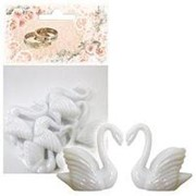 Свадебные украшения: декор свадебный Лебедь 3,5см фото