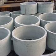 Кольца бетонные колодезные фото