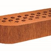 Кирпич радиусный Terca Red шероховатый, 250*85*65 мм фото