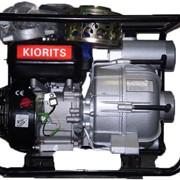 Мотопомпа KIORITS DPT-80, 68м.куб./час, для сильно загрезнённой воды. АРЕНДА фото