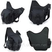 Тактическая сумка №2 черная