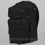 Рюкзак ASSAULT 50 литров цвет черный ( MiL-Tec) ГЕРМАНИЯ фото
