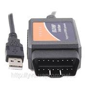 ELM327 adapter OBDII USB сканер ver.1.5