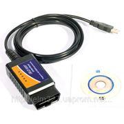 ELM327 USB адаптер сканер ошибок OBD2 для диагностики автомобиля!